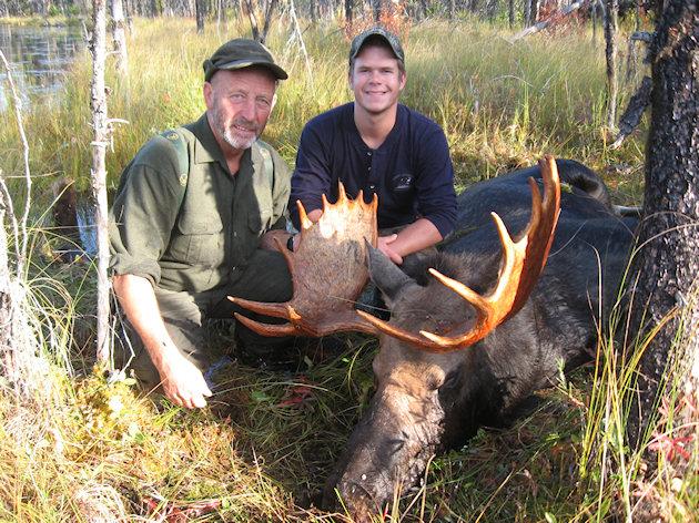 B Moose Hunting Media Gallery with Hun...